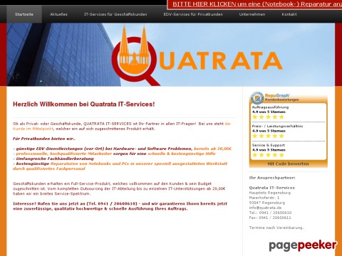 quatrata it services. Black Bedroom Furniture Sets. Home Design Ideas